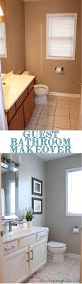 redo your bathroom yourself. easily transform your bathroom with some paint and new hardware! see the transformation diy redo yourself