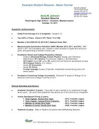 Example Resume Student Resume Examples For Year 9 Students Examples Resume