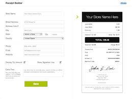 Receipt Builder Customize Receipts Via Your Ipad Pos