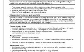 What Skills To Put On A Resume Examples Resume Example For Legal