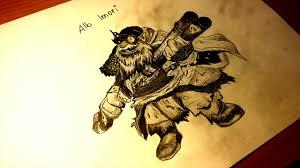 drawn sniper dota 2 heroes pencil and in color drawn sniper dota
