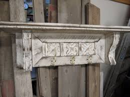 Antique Style Coat Rack Large cottage chic coat rack primitive hat rack french country 97