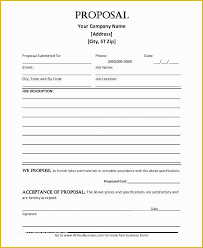 Free Construction Bid Proposal Template Download Of