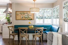 view in gallery fabulous corner banquette in the kitchen by catherine nguyen photography