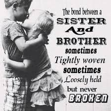 Beautiful Quotes On Brother And Sister