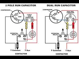 start capacitor vs run capacitor youtube Capacitor Start Motor Wiring Diagram Start Run start capacitor vs run capacitor AC Motor Wiring Diagram