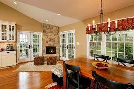 MidCentury Modern Open Concept Kitchen Dining Room And Living Open Concept Living Room Dining Room And Kitchen