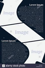 Pamphlet And Brochure Poster Flyer Pamphlet Brochure Cover Design Layout Stock