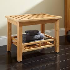 pradit bamboo bathroom stool  bathroom
