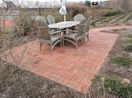 Brilliant Simple Brick Patio Designs O Inside Perfect Ideas