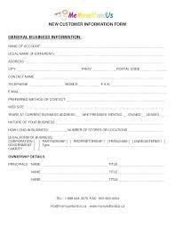 Vendor Contact Information Template