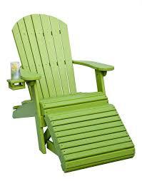 plastic adirondack chairs with ottoman