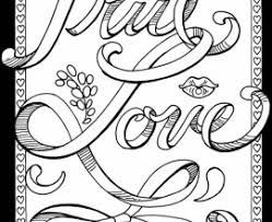 Small Picture Adult Coloring Pages Adult Coloring Pages Love I Love You Love