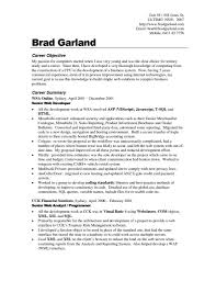 What Is An Objective On A Resume Resume Examples Job Objective Examples Objective Resume