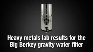 Big Berkey black ceramic elements with arsenic fluoride add on