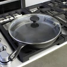 using cast iron skillet on glass top stove designs