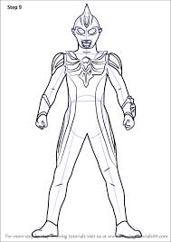 learn how to draw ultraman max