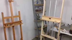 Easel Design Plans Build Your Own Art Easel With Pdf Plans Art Resource Build