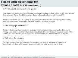 Nurse Cover Letter Samples Cover Letter For Dental Nurse Cover