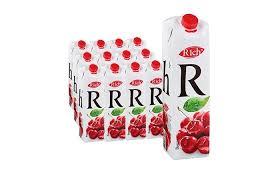 Купить <b>нектар rich</b> (<b>рич</b>) вишня, 1л, тетрапак в упаковке 12шт ...