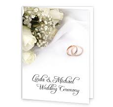 wedding bands and flowers wedding mass booklet cover loving Wedding Booklet wedding bands & flowers mass booklet_front wedding booklet templates