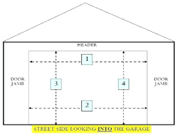 rv garage size standard garage door dimensions south 2 car size beauteous ideas about sizes on