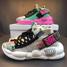 Chunky Platform Sneakers <b>Casual Vulcanize</b> Shoes – Hellozap360