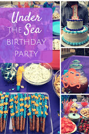 cute under the sea birthday party