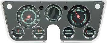 gm truck parts dash components clusters classic industries 1969 72 pickup dash gauge cluster