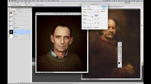 how to make a photo look like an oil painting in photo