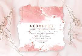 Wedding Invitations Watercolor Diy Geometric Watercolor Wedding Invitation Backgrounds Clipart
