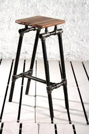 industrial pipe furniture. Galvanized Pipe Furniture Plan Steampunk Industrial Bar Stool Black Diy . O