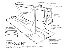 Trebuchet Catapult Design Plans Pin On Blades Axes And Ancient Weapons
