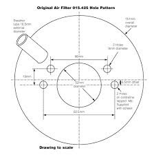 technical drawings for vintage classic cars from holden vintage air filter for su 2 in austin healey