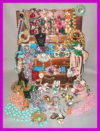 designer signed vine costume jewelry the glitter box