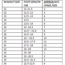 Walnut Shoes Size Chart Walnut Tiggy Sandal Pink Combo Walnut Melbourne Walnut