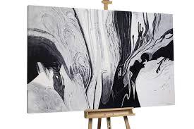 öl Gemälde Ebbe Und Flut 180x120cm