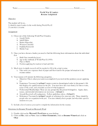 7 Proper Resume Format Authorized Letter