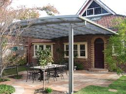 flat roof patio cover using polycarb twinwall roofing