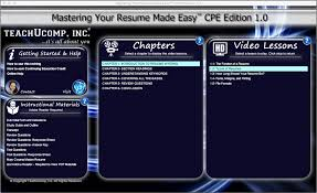 Types Of Resumes A Tutorial Teachucomp Inc