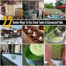you can find stock tanks and galvanized tubs at local feed s at farm s on craigslist and even on for a decent