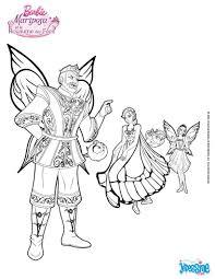Coloriage Barbie Mariposa Et Le Royaume Des Fees La Princesse