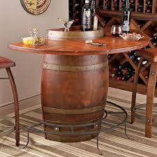 storage oak wine barrels. Oak Half Wine Barrel Bar. Preparing Zoom Storage Barrels
