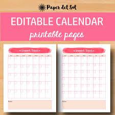 write in calendar 2018 fillable blank monthly calendar 2018 2018 calendar template