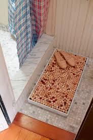 cork shower mat