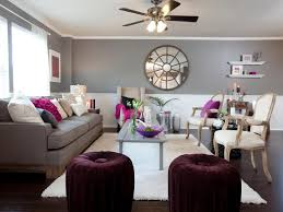 Purple And Gray Living Room Neutral Alternatives To Beige Diy Network Blog Made Remade Diy