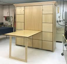 murphy bed plans with table. Murphy Bed With Table. 2_king_maple_accentpanels_700p Plans Table R