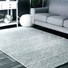 gray area rug light grey woolen cable hand woven 9x12 blue reviews