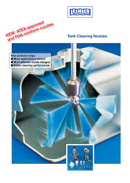 tank cleaning nozzles lechler pdf catalogue technical tank cleaning nozzles 1 20 pages