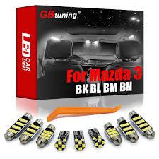 GBtuning Xi Nhan Canbus LED Dành Cho Xe Mazda 3 BK BL BM BN 2004 2020 Cốp Xe  Ô Tô Dome Ốp Trần Đèn Nội Thất Đọc Sách đèn Phòng Bộ Phụ
